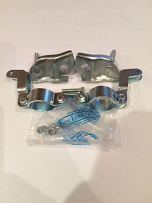 Lambretta Top & Bottom Bolt On Damper Brackets Casa