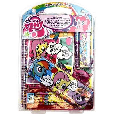 Official My Little Pony Comic Bumper School Stationery Pack - New MLP Gifts