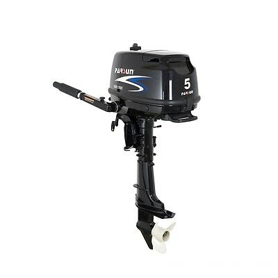 Parsun 5HP Outboard Motor, Weight 54Lbs, Short Shaft, 3 Years Warranty