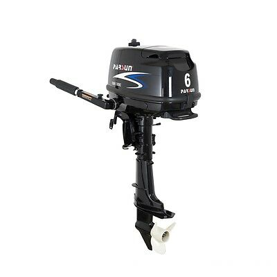 Parsun 6HP Outboard Motor, Weight 59 Lbs, Short Shaft, 3 Years Warranty