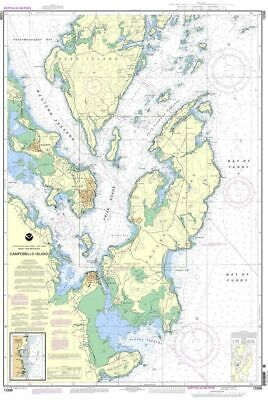 NOAA Nautical Chart 13396: Campobello Island; Eastport Harbor