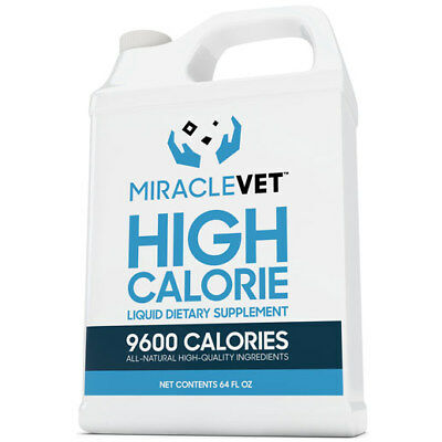 Dog weight gain supplement — 1/2 gallon of Miracle Vet™ (9,600 calories)