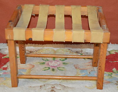 WOODEN FOOTSTOOL STOOL collection only