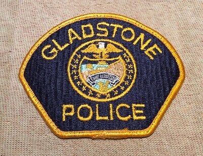 OR Gladstone Oregon Police Patch