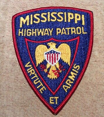 MS Mississippi Highway Patrol Patch