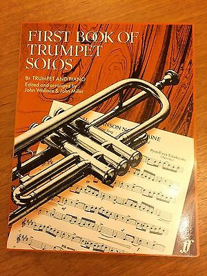 First Book Of Trumpet Solos *NEW* with piano accompaniment
