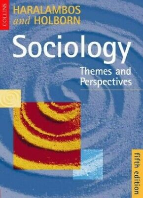 Sociology: Themes and Perspectives 5th Ed by Holborn, Martin Paperback Book The