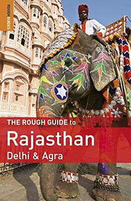 The Rough Guide to Rajasthan, Delhi & Agra by Thomas, Gavin Paperback Book The