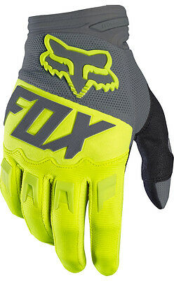 "Guanti cross | enduro FOX Dirtpaw giallo fluo / grigio ""M"""