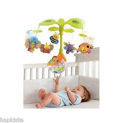 Musical Baby Mobile Light Up Singing Infant Crib Toy Nursery Lullabies Melodies