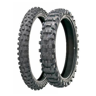 Michelin AC 10 80/100/21 Front & 120/90/18 Rear Road Legal Motocross / MX Tyres