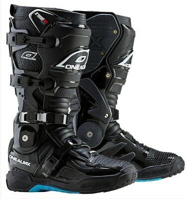 Oneal 2017 Rdx 2.1 Black Motocross Mx Boots Pivot Ankle System