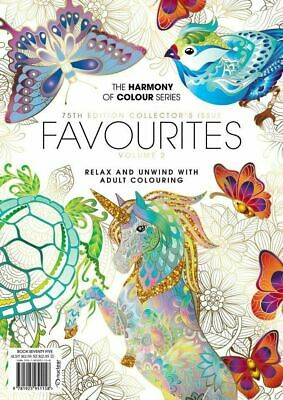 Harmony of Colour Book 56 Butterfly Garden Adult Colouring 36 Designs - NEW