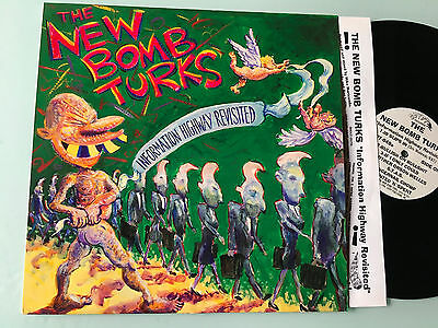 LP 1994  The New Bomb Turks – Information Highway Revisited Label: Crypt Record