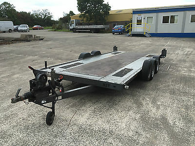 Brian James A4 Car Transporter Trailer 16ft x 6.5ft c/w winch and ramps  INC VAT
