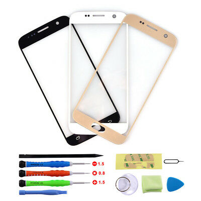 Outer Front Glass Lens Screen Replacement For Samsung Galaxy S7 + Repair Tools