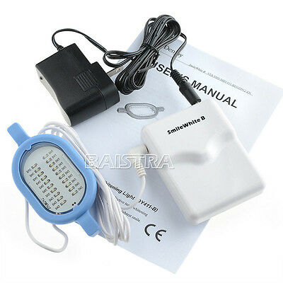 Dentaire Dents Whitening LED Light Lamp Mini Portable Home Use Simple Operation