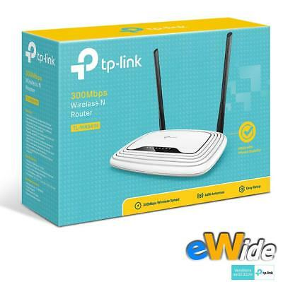 Tp Link Tl-Wr841N Router Wi Fi 300 Mbps Access Point 2 Mimo Switch 4 Porte Lan