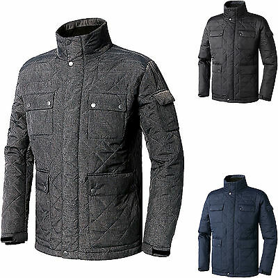 Mens Cold Weather Field Jacket Liners Quilted Warm Quilting Jackets Coat Blazer