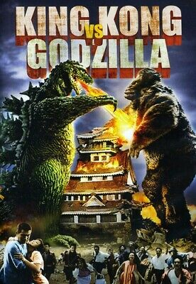 King Kong Vs Godzilla [New DVD] Dolby, Subtitled, Widescreen