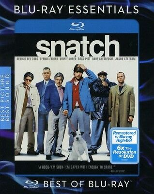 Snatch [New Blu-ray] Ac-3/Dolby Digital, Dolby, Dubbed, Repackaged, Subtitled,
