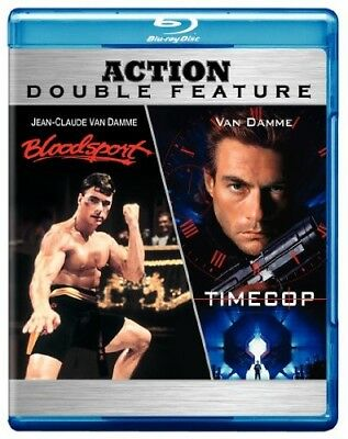 Bloodsport / Timecop [New Blu-ray] Subtitled, Widescreen