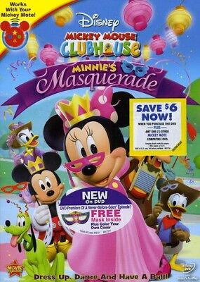Minnie's Masquerade [New DVD] Full Frame, Subtitled, Dolby, Dubbed