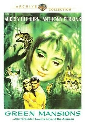 Green Mansions [New DVD] Manufactured On Demand, Mono Sound, Widescreen