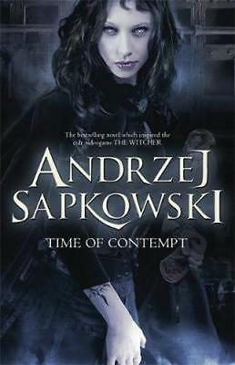 NEW Time of Contempt By Andrzej Sapkowski Paperback Free Shipping