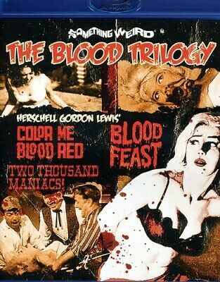 The Blood Trilogy [New Blu-ray] Ac-3/Dolby Digital, Digital Theater System, Wi