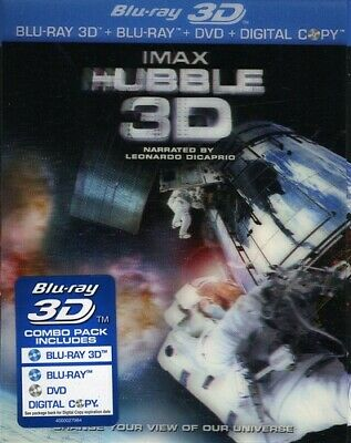 IMAX: Hubble (3D) [New Blu-ray 3D] With Blu-Ray, Widescreen, 3D, O-Card Packag