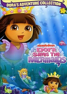 Dora the Explorer - Dora Saves the Mermaids [New DVD] Full Frame, Dolby