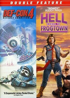 Def-Con 4/Hell Comes to Frogtown [New DVD] Dolby, Mono Sound, Widescreen
