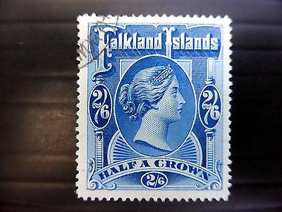 FALKLAND ISLANDS 1898 - 2/6 SG41 Fine/Used NEW LOWER PRICE FP8080
