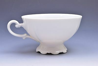 Mitterteich Baroque Bavaria Germany All White Footed Cup(s)