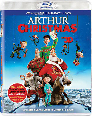 Arthur Christmas [New Blu-ray 3D] With Blu-Ray, With DVD, UV/HD Digital Copy,