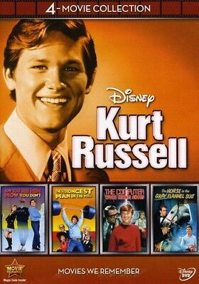 Kurt Russell: 4-Movie Collection [New DVD] Boxed Set