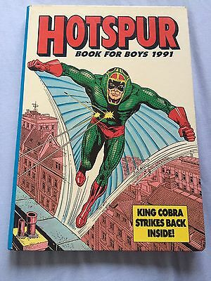 Hotspur Book For Boys Annual (1991) ***excellent Condition***