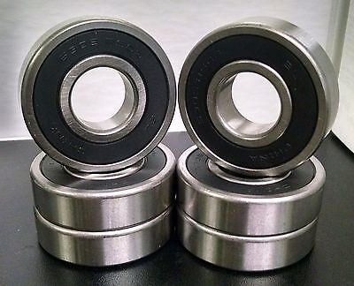 6305 RS SEALED BALL BEARINGS 25x62x17 6305 2RS QTY 10 6305 RS