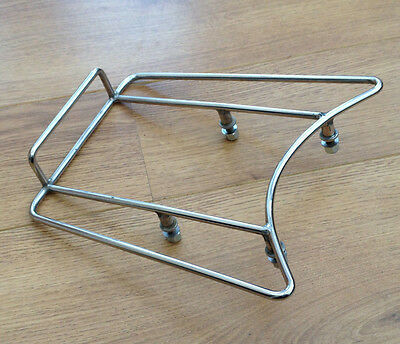 Lambretta S/3 Li -Gp-Sx-Tv Ancilotti Stainless Steel Rear Strint Rack.brand New