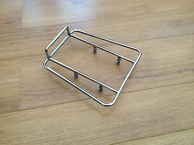 Lambretta S/3 Li -Gp-Sx-Tv  Stainless Steel Rear Strint Rack.brand New