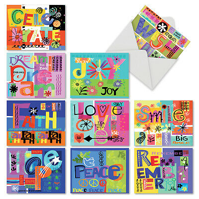 Lot of american greetings cards 200 assorted holiday christmas no m6717ocb grateful graffiti 10 assorted blank all occasion note cards envelopes m4hsunfo