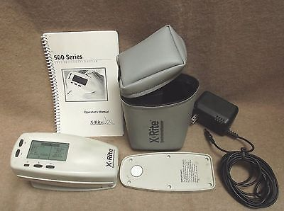 X-Rite 518 Color Spectrophotometer Densitometer Xrite 518 NEW Battery ..inv#se28
