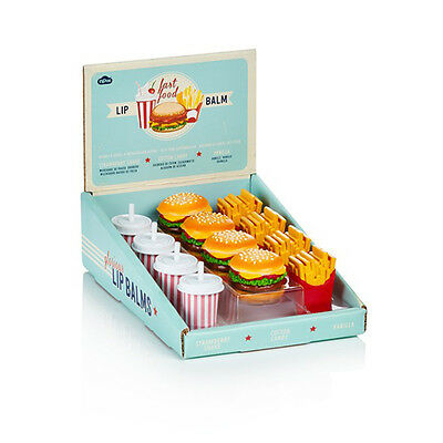 NPW Fast Food Shaped lip balm -  Three flavours available ONE LIP BALM