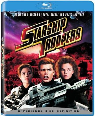 Starship Troopers [New Blu-ray] Ac-3/Dolby Digital, Dolby, Dubbed, Subtitled,