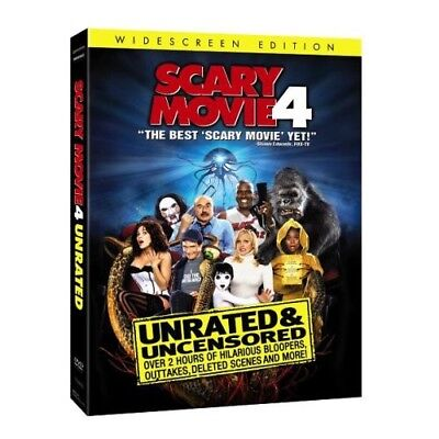 Scary Movie 4 (Unrated) [New DVD] Unrated, Widescreen