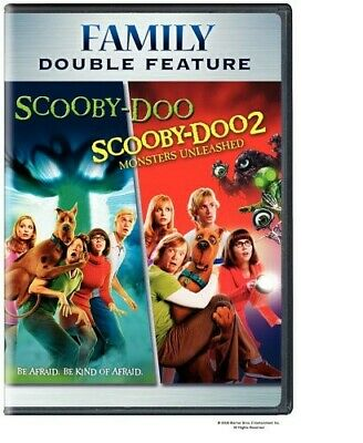 Scooby-Doo/Scooby-Doo 2: Monsters Unleashed DVD Region 1