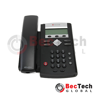 *NEW* Polycom SoundPoint IP 335 PoE VoIP Conference Phone P/N: 2200-12375-025
