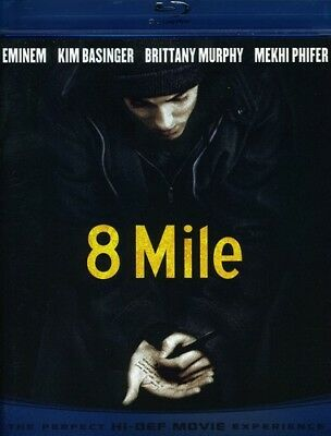 8 Mile [New Blu-ray] Ac-3/Dolby Digital, Dolby, Digital Theater System, Dubbed