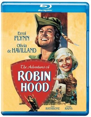 The Adventures of Robin Hood [New Blu-ray] Rmst, Dubbed, Subtitled, Standard S